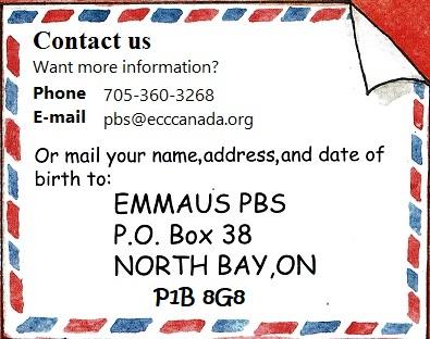 Postal Bible Studies Home – Emmaus Correspondence Centre Canada